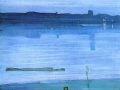 033 - James McNeill Whistler - Nocturne en bleu et argent