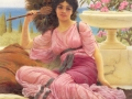 039 - John William Godward - Flabellifera