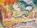 0551 - Henri Matisse - Jeune femme en robe japonaise au bord de l'eau,