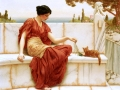 072 - John William Godward - La favorite