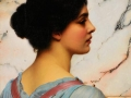 076 - John William Godward - Bellezza Pompeiana