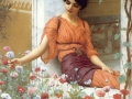 082 - John William Godward - Summer flowers
