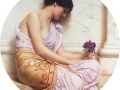 084 - John William Godward - Violets, sweet violets