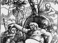 32 - Hans Badung Grien - Bacchus ivre avec putti jouant