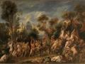 45 - Jacques Jordaens - Le Triomphe de Bacchus