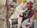 73 - Otto Dix - Souvenir de la galerie des glaces à Bruxelles