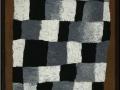202Paul Klee (1879-1940) Rhythmisches (« En rythme ») 1930 Huile sur toile, toile de jute H. : 69,6 cm ; L. : 50,5 cm Paris, musée national d'art moderne – Centre Georges-Pompidou