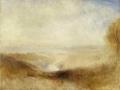 204Joseph Mallord William Turner (1775-1851) Paysage avec une rivière et une baie dans le lointain Vers 1845 Huile sur toile H. : 93 cm ;  L. 123 cm  Paris, musée du Louvre