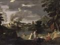402Nicolas Poussin (1594-1665)  Orphée et Eurydice Vers 1650-1653 Huile sur toile H. : 1,24 m ; L. : 2 m Paris musée du Louvre