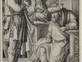 606Lucas de Leyde (vers 1489-1533) David jouant de la harpe devant Saül vers 1508