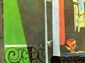 708Henri Matisse (1869-1954) : La leçon de piano, 1916. Huile sur toile, 245 x 212 cm. New York, Museum of Modern Art.