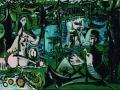730 Pablo Picasso (1881-1973), Le dejeuner sur l'herbe d'apres Manet, 3 mars-20 aoilt 1960. Huile sur toile, 130 x 195 cm. Paris, musée Picasso.