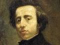 808Thomas Couture (1815-1879), Frédéric Chopin. Huile sur toile, 46 x 38 cm. Versailles, châteaux de Versailles et du Trianon.