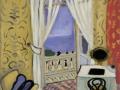 995Henri Matisse (1869-1954), Intérieur au violon, 1917-1918. Huile sur toile, 116 x 89 cm. Copenhague, Statens Museum for Kunst.