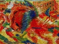 919Umberto Boccioni (1882-1916), La città che sale (« La ville qui monte »), 1910-1911. Huile sur toile, 199,3 x 301 cm. New York, The Museum of Modern Art.www.moma.org.