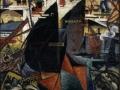 920Félix Del Marle (1889-1952), Le port, 1913-1914. Huile sur toile, 81 x 65 cm. Valenciennes, musée des Beaux-arts.