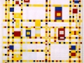 924Piet Mondrian (1872-1944), Broadway Boogie Woogie, 1942-1943. Huile sur toile, 127 x 127 cm. New York, The Museum of Modern Art, New York.