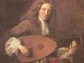 802François de Troy (1645-1730) Portrait du luthiste Charles Mouton