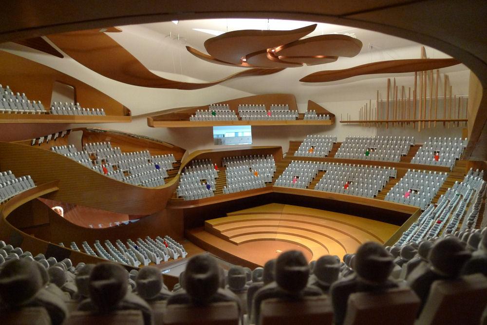 Campagnes de tests acoustiques r alis es par nagata acoustics musique cla - Brigitte metra architecte ...