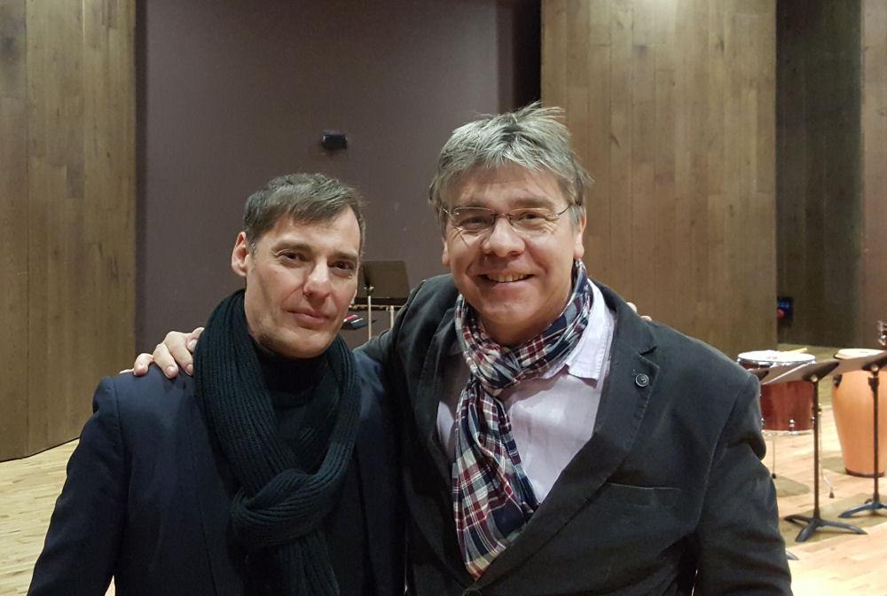 """2 """"Dutilliens"""" Régis campo & Eric Tanguy (Photo  T. Vagne)"""