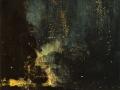 032 - James Abbott McNeill Whistler - Nocturne en noir et or