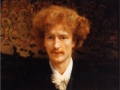 037 - Sir Lawrence Alma-Tadema - Portrait of Ignacy Jan Paderewski