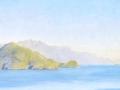 041 - John William Godward - Punta Campanelle from Capri