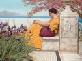 074 - John William Godward, Under the Blossom that Hangs on the Bough