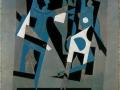 094 - Pablo Picasso - Arlequin et femme au collier