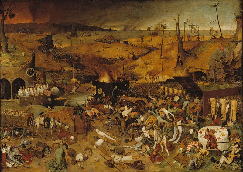 25 -  Pieter Brueghel l'Ancien - Le Triomphe de la Mort