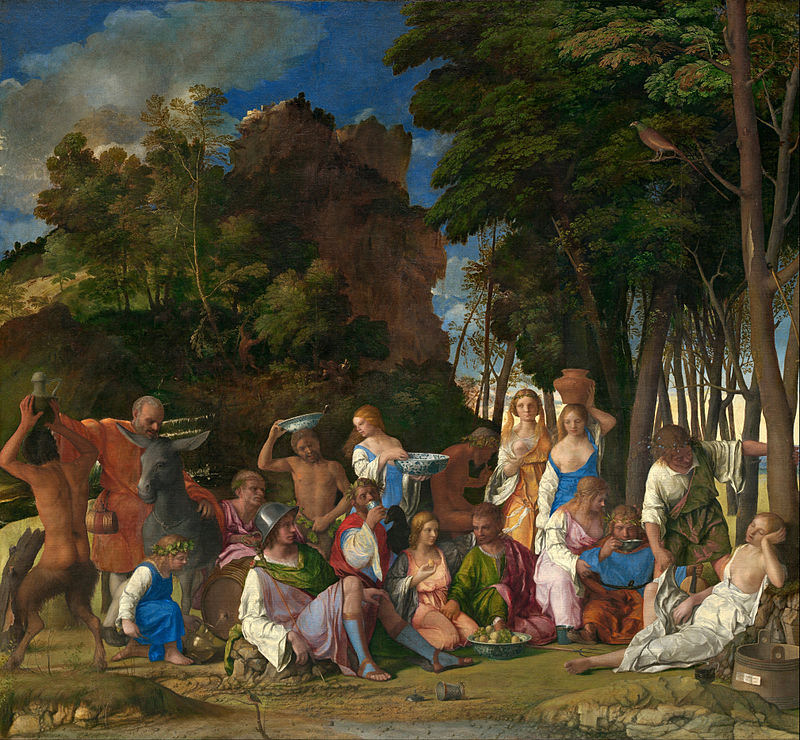39 - Giovanni Bellini - Le Festin des dieux
