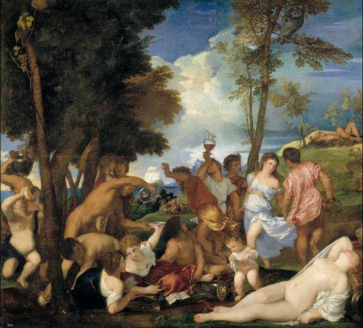 41 - Titien - La Bacchanale des Andriens