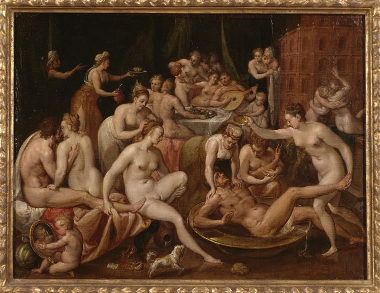 412 - Bernaert de Rijckere - Le Festin des dieux