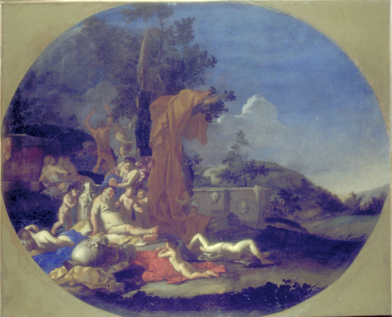 48 - Giulio Carpioni - Bacchanale ou Fête de Silène