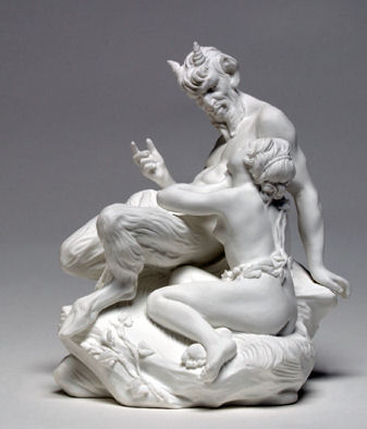 54 - Etienne-Maurice Falconet - Le Satyre assis