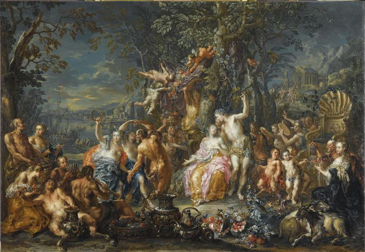 55 - Johann Georg Platzer - Bacchus et Ariane
