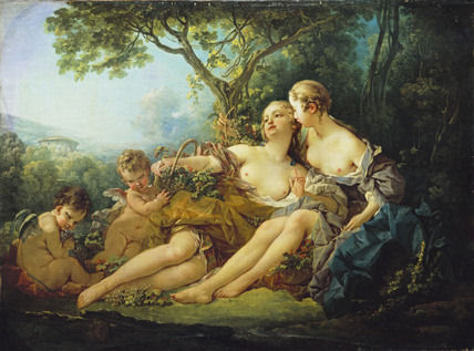57 - François Boucher - Bacchus et Érigone