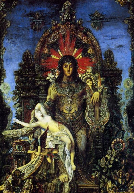 68 - Gustave Moreau - Jupiter et Sémélé