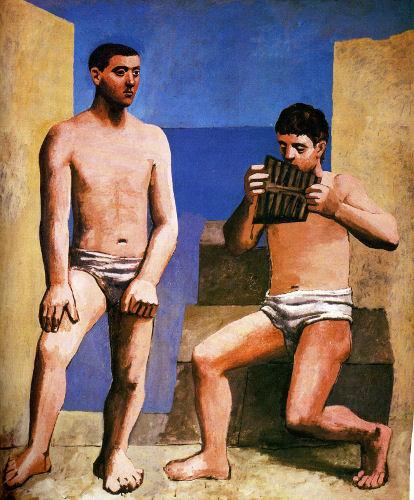 75 - Pablo Picasso - La Flûte de Pan