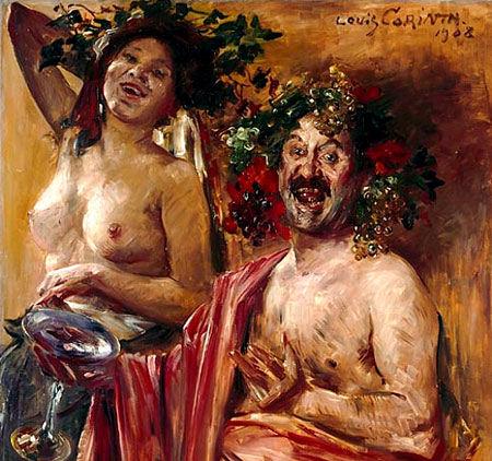 79 - Lovis Corinth - Couple de bacchants