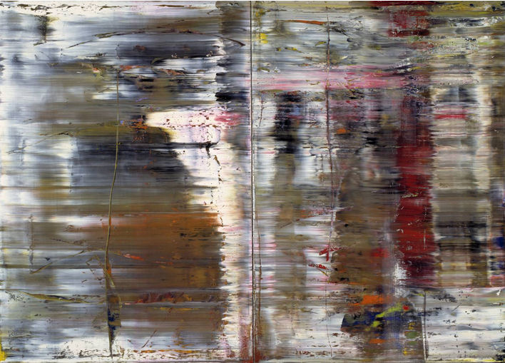 87 - Gerhard Richter - Abstraktes Bild