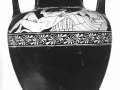 11 - Dionysos banquetant et satyre