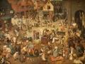 16 - Bruguel l'Ancien - Le combat de Carnaval et de Carême - 1559