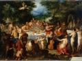 42 - Hendrick Van Balen & Jan I Bruegel l'Ancien - Le Banquet des dieux