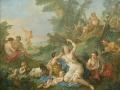 56 - Charles Joseph Natoire - Le Triomphe de Bacchus