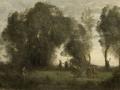71 - Camille Corot - La Danse des nymphes