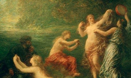 208.Henri Fantin-Latour (1836-1904), Tannhauser : Venusberg, 1886. Huile sur toile, 86,4 x 103,3 cm. Cleveland (Ohio), The Cleveland Museum of Art.