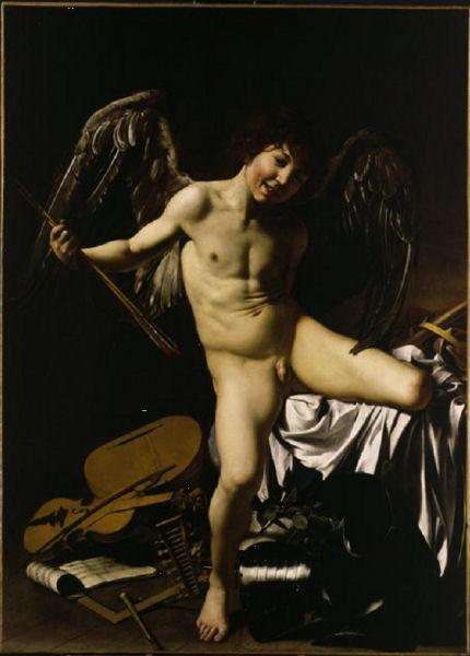612Caravage (vers 1571-1610)   L'Amour vainqueur 1602
