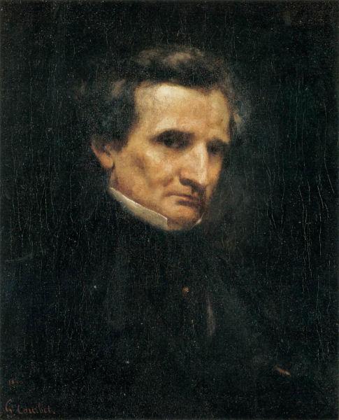 806Gustave Courbet (1803-1869), Hector Berlioz, 1850. Huile sur toile, 61 x 48 cm. Paris, musée d'Orsay.
