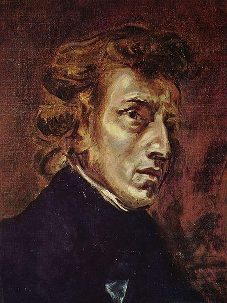 807Eugene Delacroix (1798-1863), Portrait de Frédéric Chopin, 1838. Huile sur toile, 45 x 38 cm. Paris, musée du Louvre.